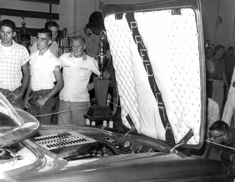 Predicta - Darrill Starbird - 1956 tbird radical bubble top custom Darryl14