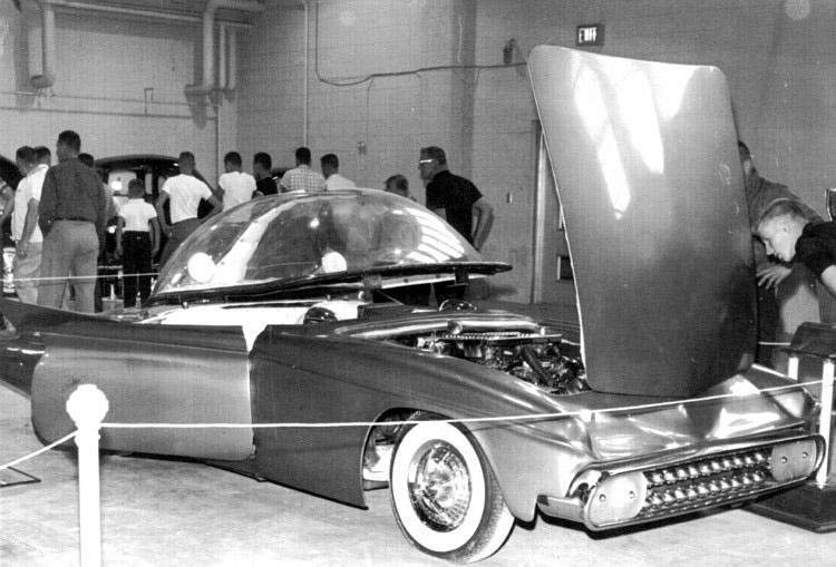 Predicta - Darrill Starbird - 1956 tbird radical bubble top custom Darryl15