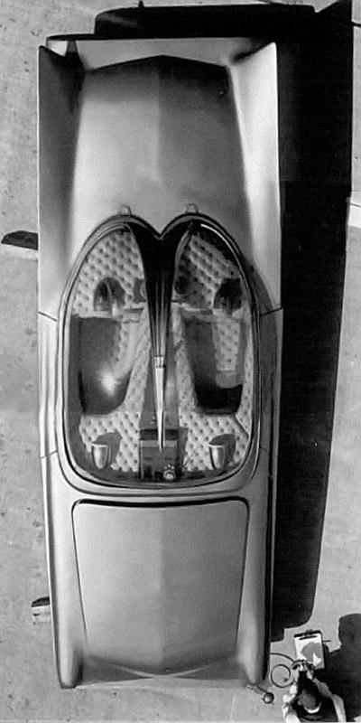 Predicta - Darrill Starbird - 1956 tbird radical bubble top custom Darryl17