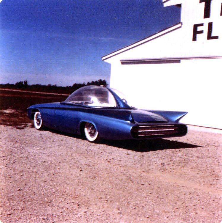 Predicta - Darrill Starbird - 1956 tbird radical bubble top custom Darryl19
