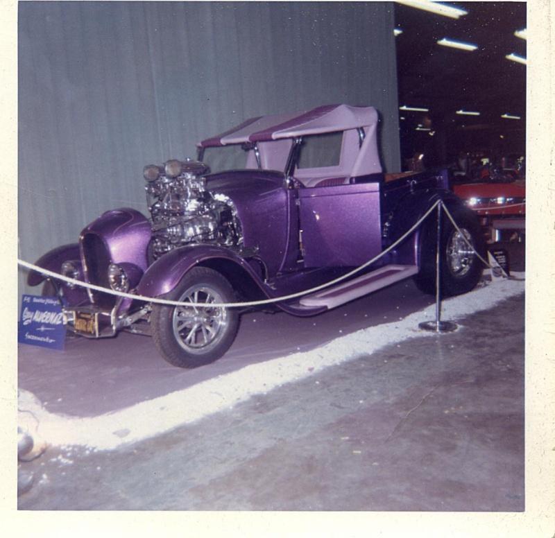 Sixties show rods &  Custom Rods Gary2010