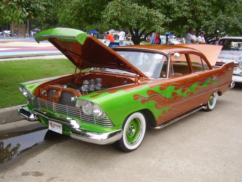 Plymouth  1957 - 1958 custom & mild custom Koa25713