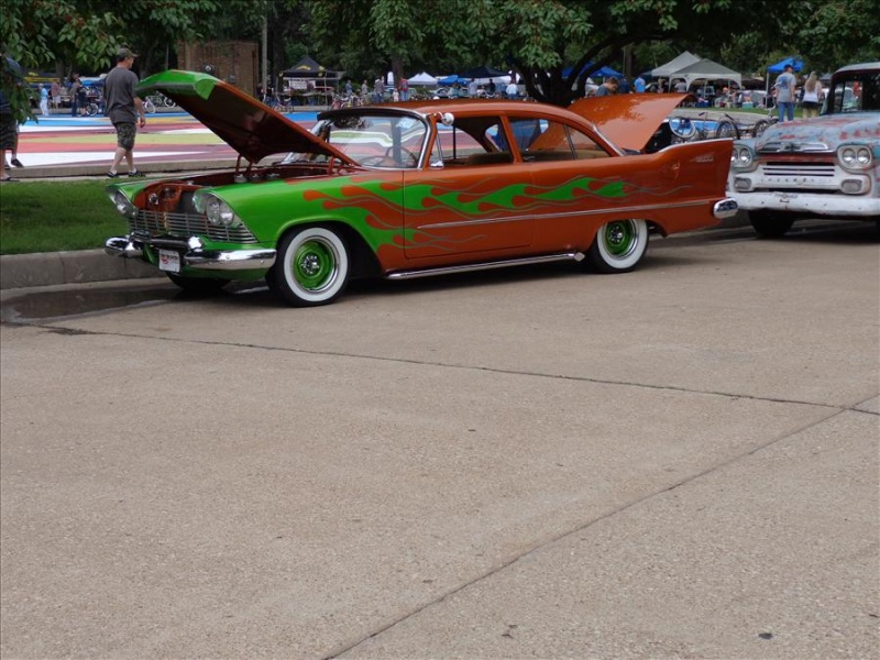 Plymouth  1957 - 1958 custom & mild custom Koa25910