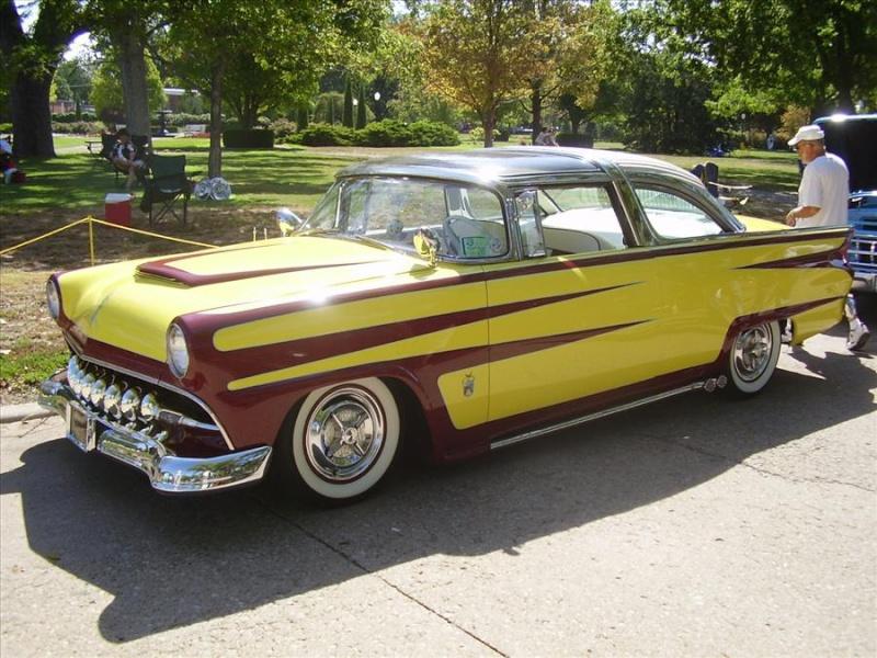 Ford 1955 - 1956 custom & mild custom Koa36110