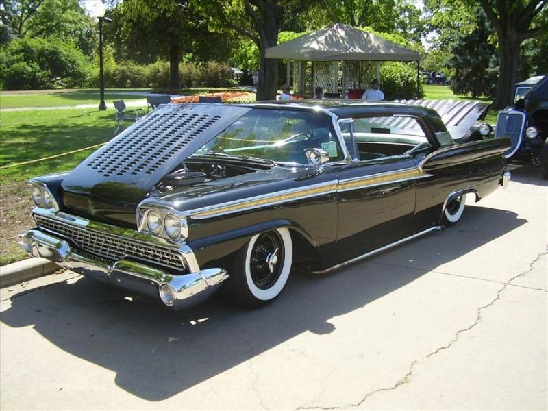 Ford 1959 custom & mild custom Koa37610
