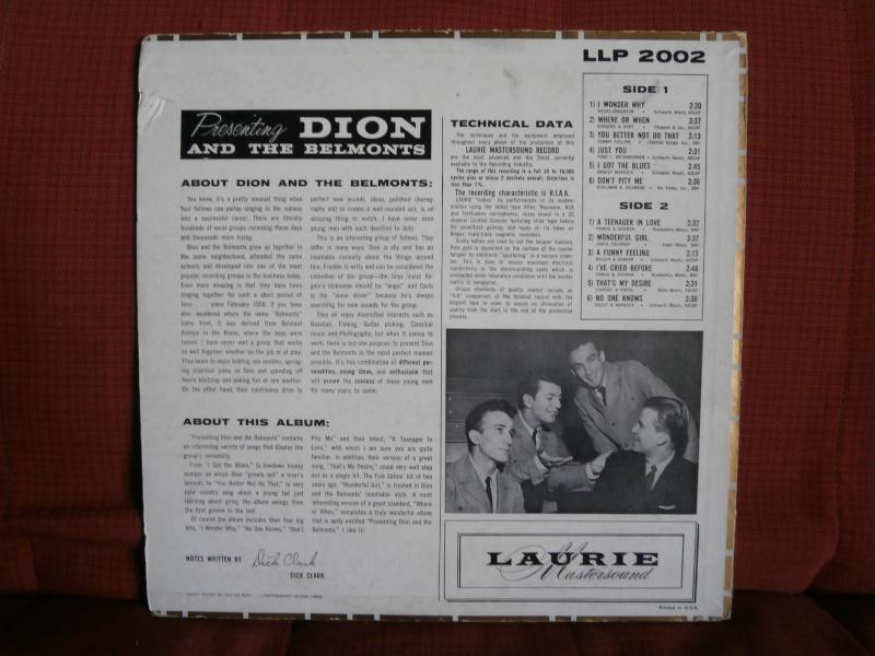 Les albums 33 tours classiques du rock des 1950's et 1960's - Classic Lp's of 1950's and 1960's rock - Page 4 P2210011