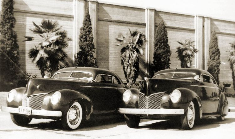 custom cars in the street ( 1950's & 1960's) P2270011