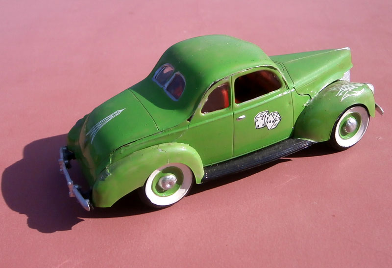 '40 Ford Coupe - Table top series - American Stock car - 1:32 scale - Pyro P8040047