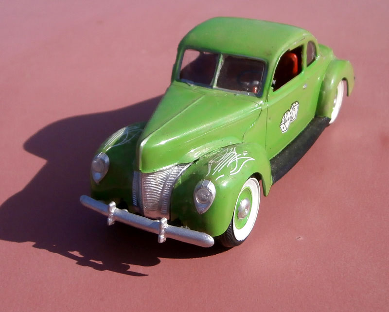 '40 Ford Coupe - Table top series - American Stock car - 1:32 scale - Pyro P8040048