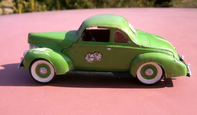 '40 Ford Coupe - Table top series - American Stock car - 1:32 scale - Pyro P8040049