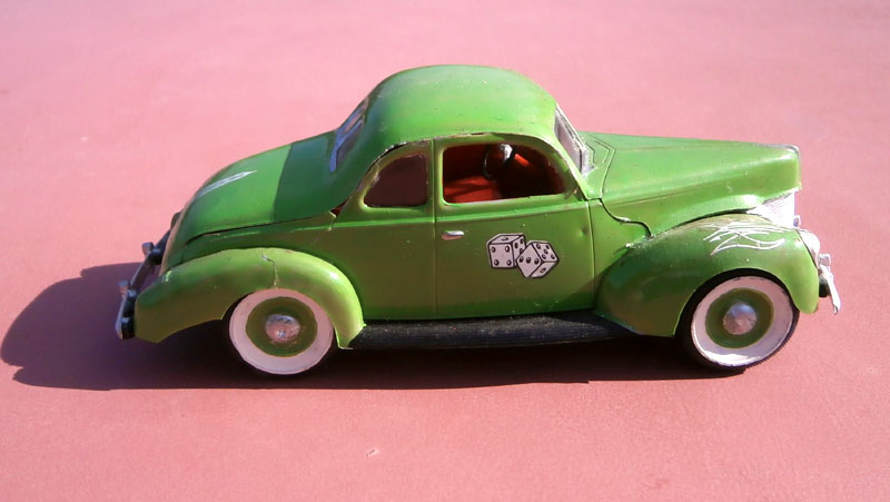 '40 Ford Coupe - Table top series - American Stock car - 1:32 scale - Pyro P8040050