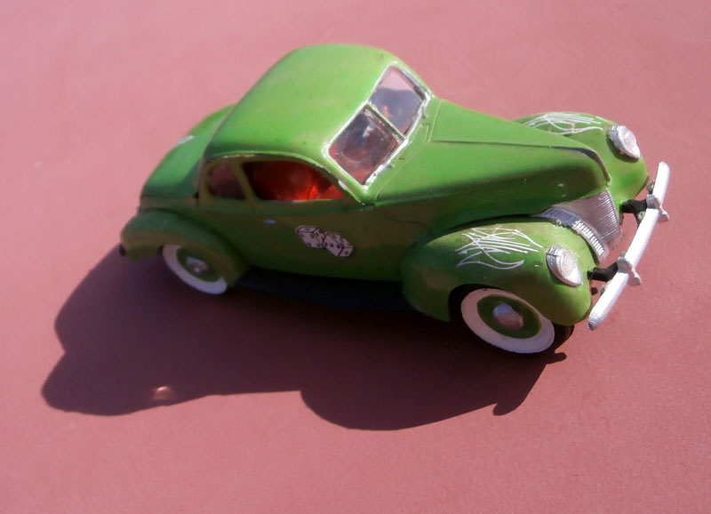 '40 Ford Coupe - Table top series - American Stock car - 1:32 scale - Pyro P8040051