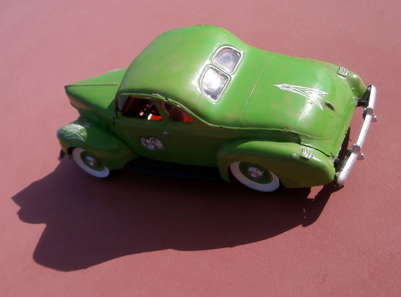 '40 Ford Coupe - Table top series - American Stock car - 1:32 scale - Pyro P8040052