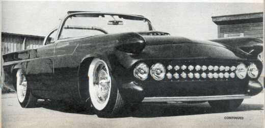 Predicta - Darrill Starbird - 1956 tbird radical bubble top custom Photo_10