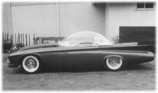 Predicta - Darrill Starbird - 1956 tbird radical bubble top custom Pred-c10