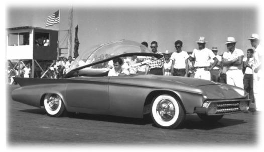 Predicta - Darrill Starbird - 1956 tbird radical bubble top custom Pred-c11