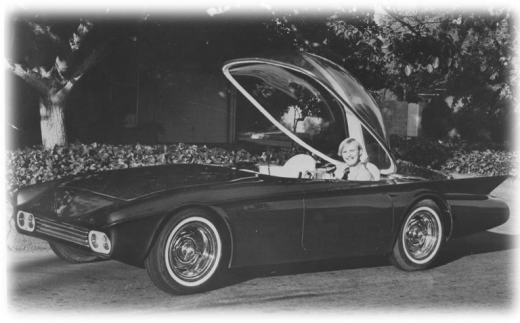 Predicta - Darrill Starbird - 1956 tbird radical bubble top custom Pred-c12