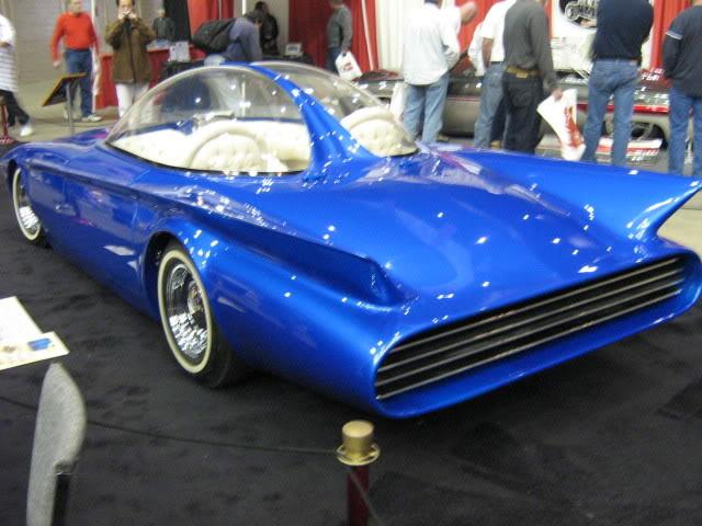 Predicta - Darrill Starbird - 1956 tbird radical bubble top custom Predic10