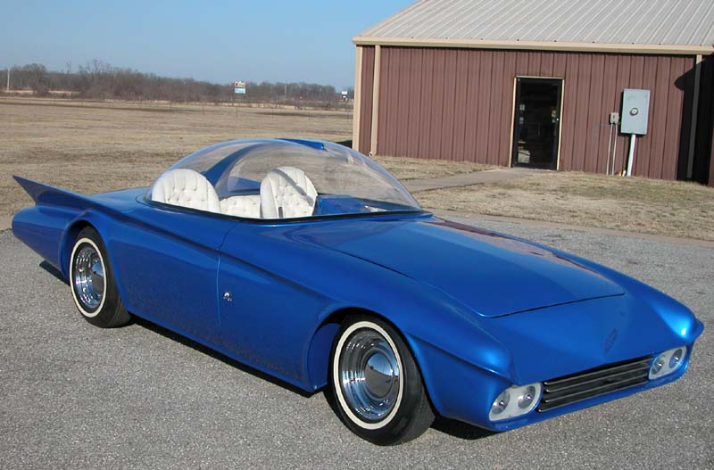 Predicta - Darrill Starbird - 1956 tbird radical bubble top custom Predic12
