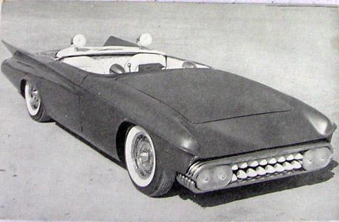 Predicta - Darrill Starbird - 1956 tbird radical bubble top custom Starbi10
