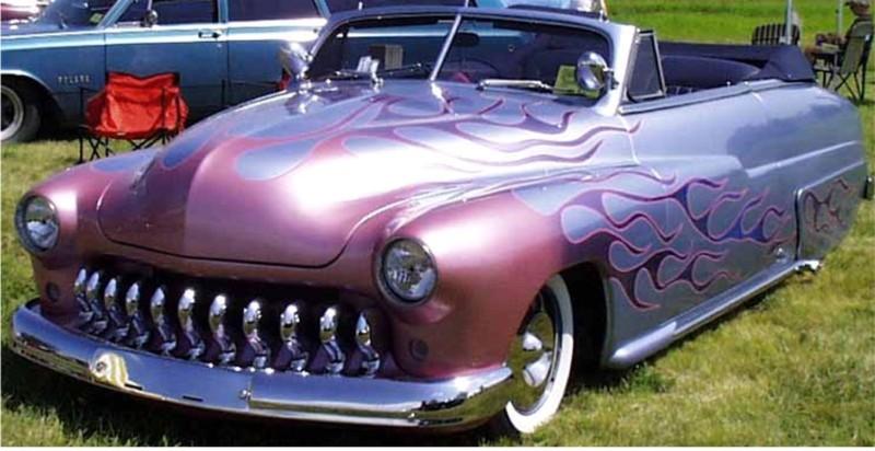 1950 Mercury Convertible - Lead Rag - T2ec1199