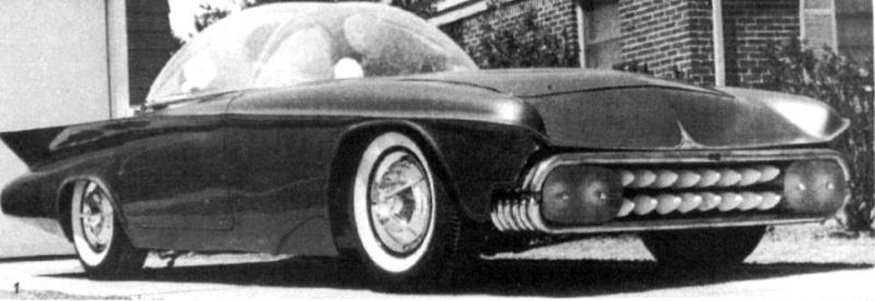 Predicta - Darrill Starbird - 1956 tbird radical bubble top custom The-pr10