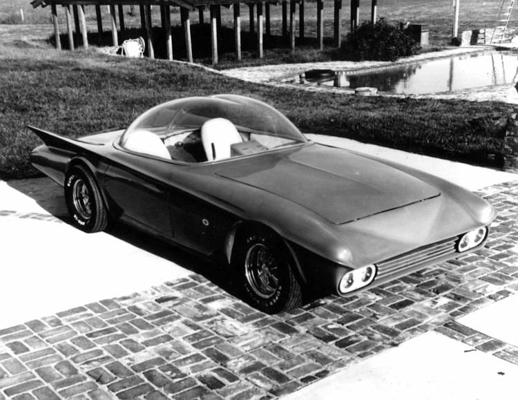 Predicta - Darrill Starbird - 1956 tbird radical bubble top custom The-pr11