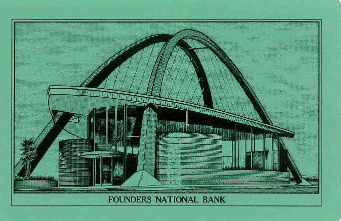Architectures de banques et bureaux vintages - 1950's & 1960's Office & Bank  Tumblr33