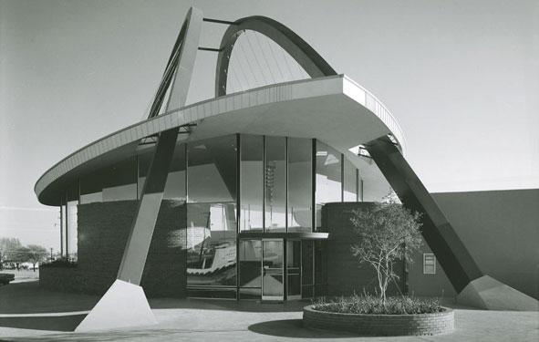 Architectures de banques et bureaux vintages - 1950's & 1960's Office & Bank  Tumblr34