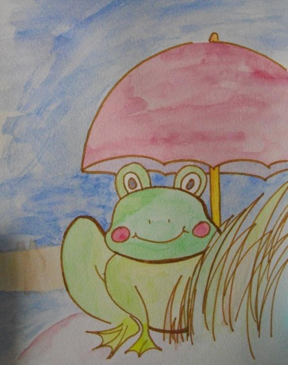 petite grenouille  Imgp2316