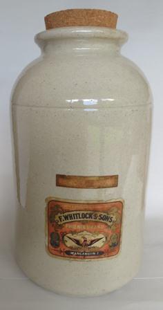 My wonderful Whitlocks jar!  Timaru10