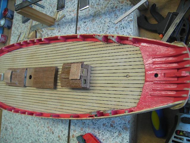 """BISQUINE sur la base """"La Cancalaise"""" Billing Boats 1/40°  Bild0010"""