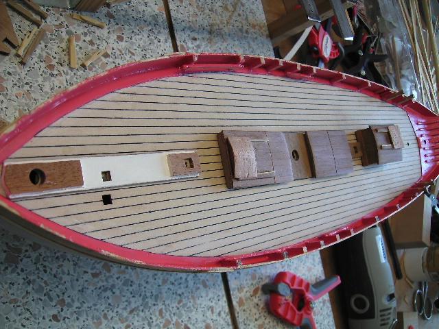 """BISQUINE sur la base """"La Cancalaise"""" Billing Boats 1/40°  Bild0011"""
