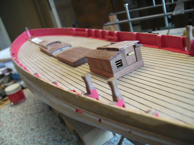 """BISQUINE sur la base """"La Cancalaise"""" Billing Boats 1/40°  Bild0012"""