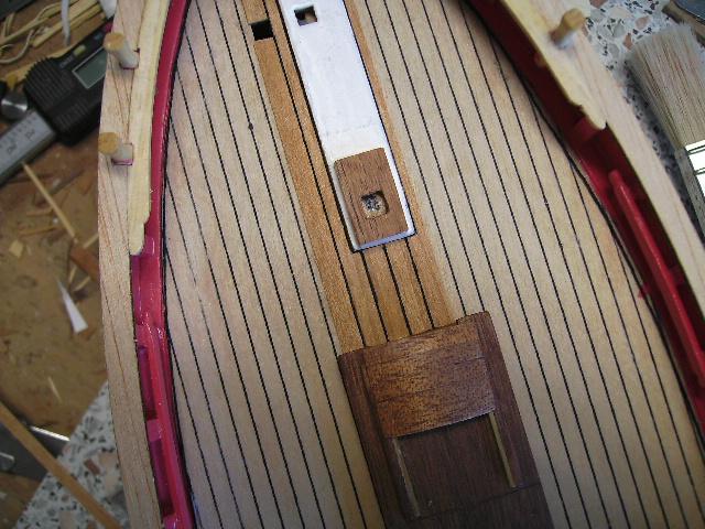 """BISQUINE sur la base """"La Cancalaise"""" Billing Boats 1/40°  Bild0018"""