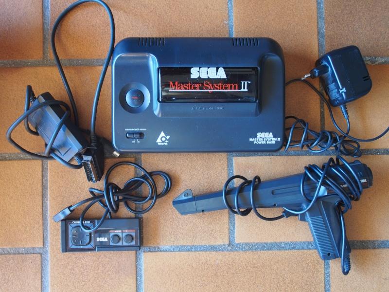 Sega vintage: Megadrive, Mastersystem,Saturn et jeux Pb081110