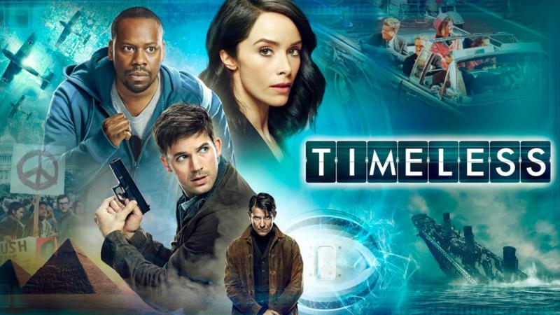 Timeless (NBC, disponible sur Netflix)  Timele10