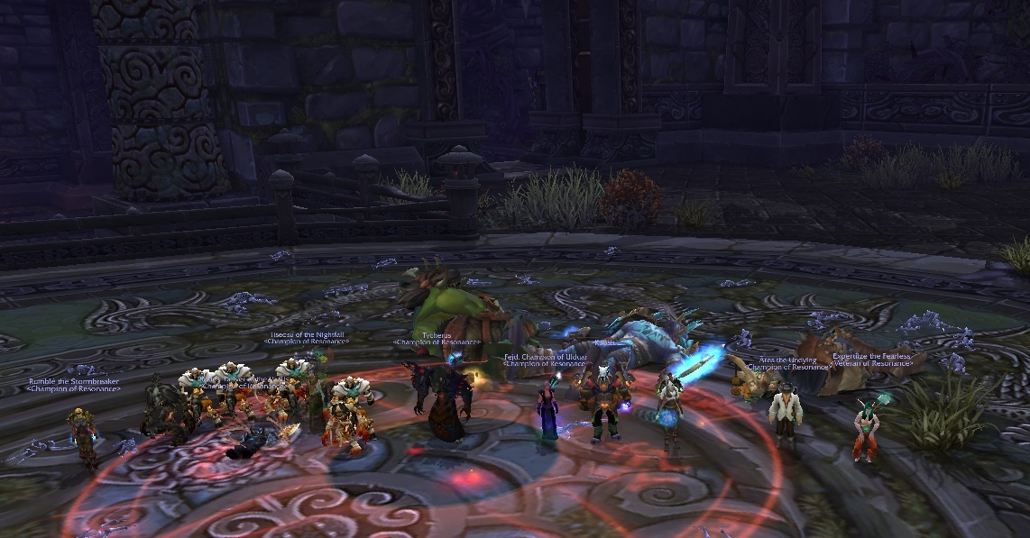 Why do all of our kill shots look the same? Aw, who cares, Heroic Council down! Coucil10