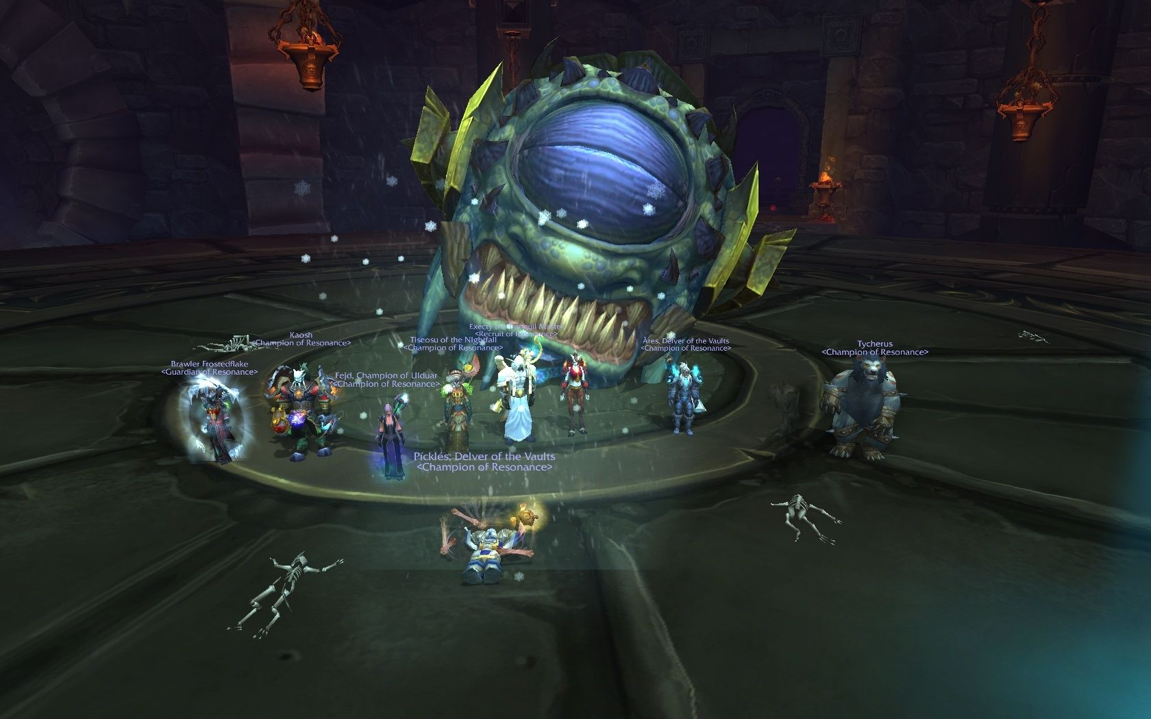 Durumu HC died after only 2 pulls! Are we awesome or are we awesome?! Durumu10
