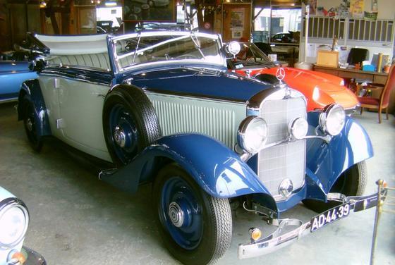 Les Mercedes des années 30/40 - Page 2 Merced12