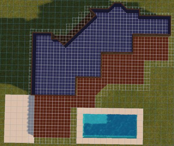 [Apprenti] Construire une maison un peu plus compliquée à partir d'un plan   1618
