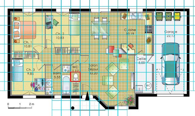 [Débutant] Construire une maison simple à partir d'un plan 232