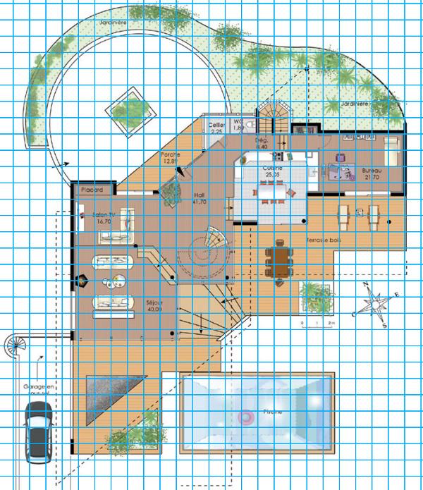 [Apprenti] Construire une maison un peu plus compliquée à partir d'un plan   233