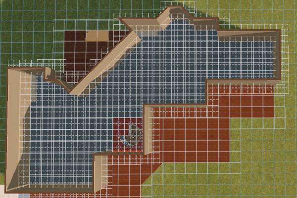 [Apprenti] Construire une maison un peu plus compliquée à partir d'un plan   2412
