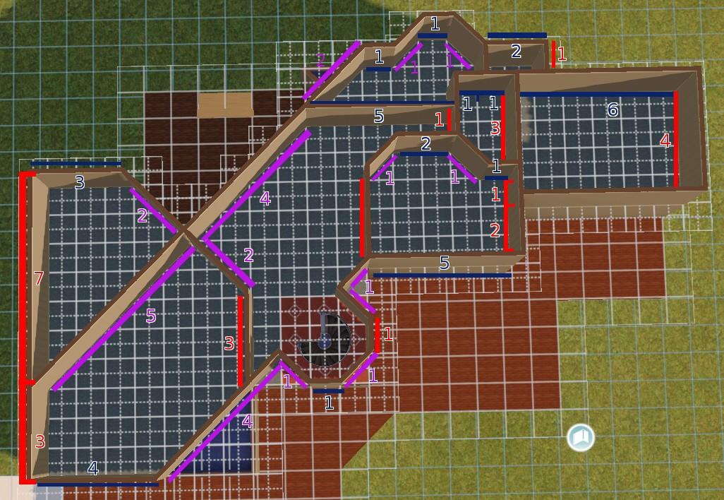 [Apprenti] Construire une maison un peu plus compliquée à partir d'un plan   2611