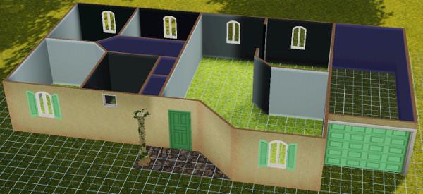 [Débutant] Construire une maison simple à partir d'un plan 2910