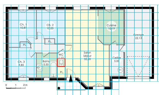 [Débutant] Construire une maison simple à partir d'un plan 332