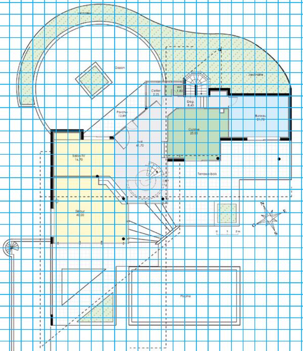 [Apprenti] Construire une maison un peu plus compliquée à partir d'un plan   333
