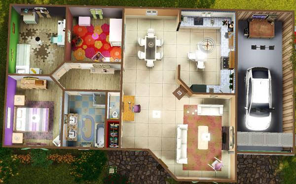 [Débutant] Construire une maison simple à partir d'un plan 3711