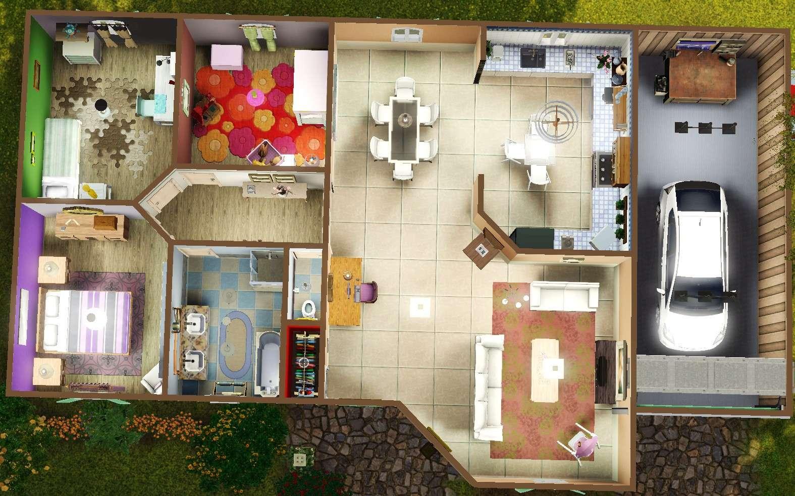 [Débutant] Construire une maison simple à partir d'un plan 3811